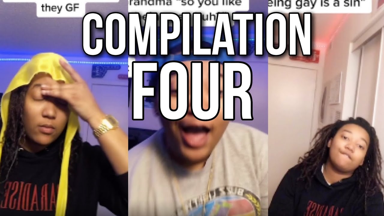 Download LGBTQ Lesbian TikTok Compilation #4 Kickitwithdre