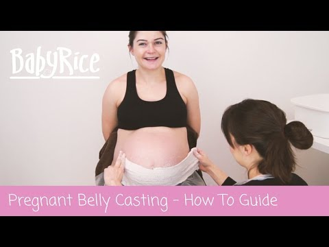 Pregnancy Belly Cast – Easy to Follow How to Belly Cast Video