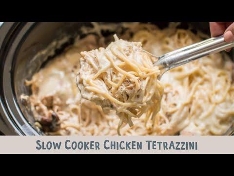 Slow Cooker Chicken Tetrazzini - YouTube