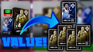 Resolution Starters Opening - Best Value to Make a Master! - Nba Live Mobile 19