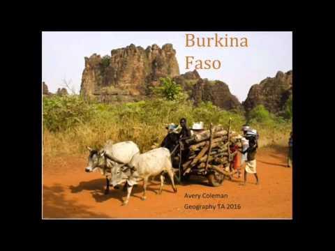 BURKINA FASO Presentation - Recorded