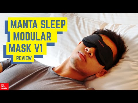 manta sleep mask  Manta Sleep Modular Mask: The Best Travel Sleep Mask? - YouTube