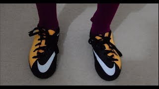 Unboxing nike hypervenom 3 x kids football boots