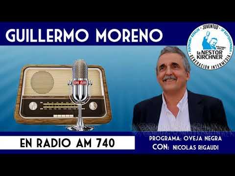 Guillermo Moreno en AM 740 Radio Rebelde 15/12/17