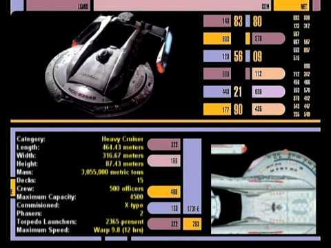 Star Trek: Starship Database #01