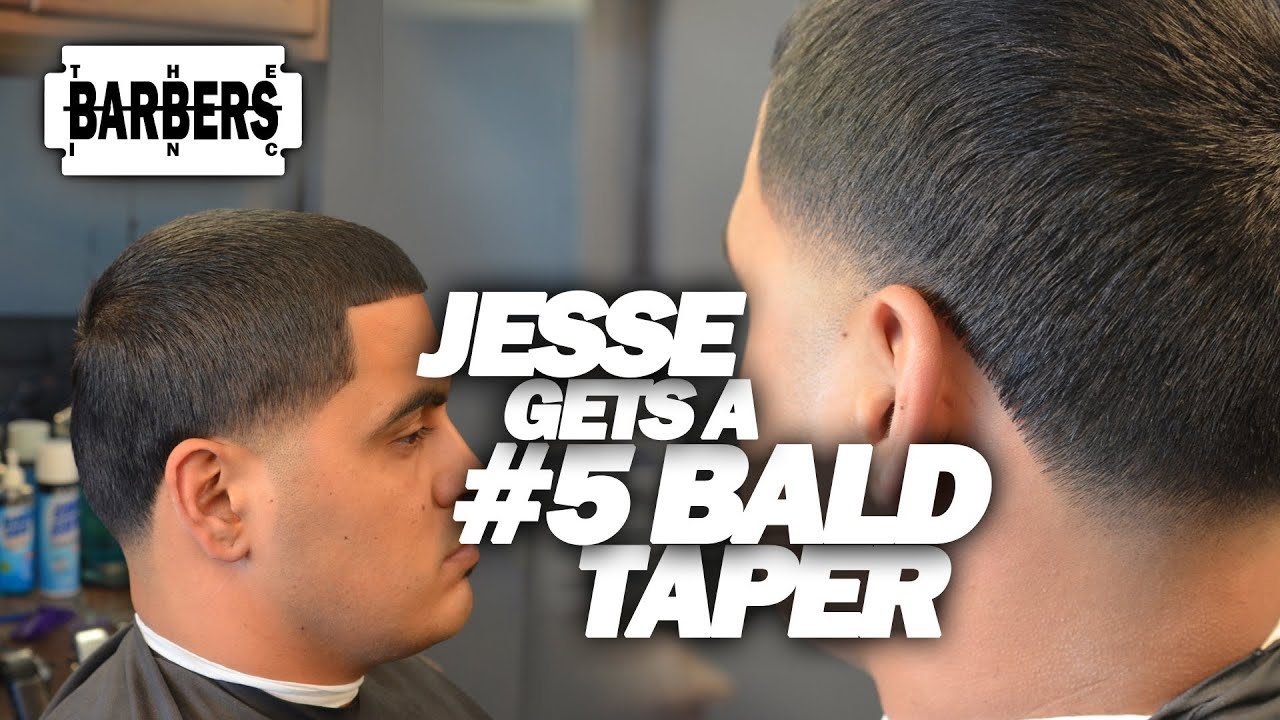 How To Bald Taper 5 On Top Skin Taper Blow Out Mens Haircut