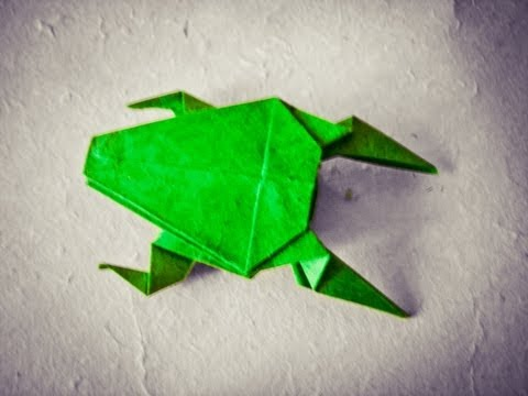 How To Make An Easy Origami Frog