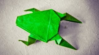 How To Make An Easy Origami Frog - [[hd]]