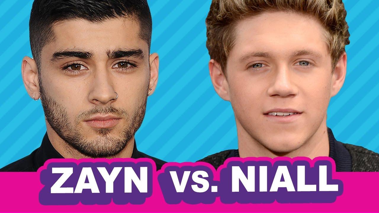 Zayn And Niall Cuddling Zayn vs. Niall:...