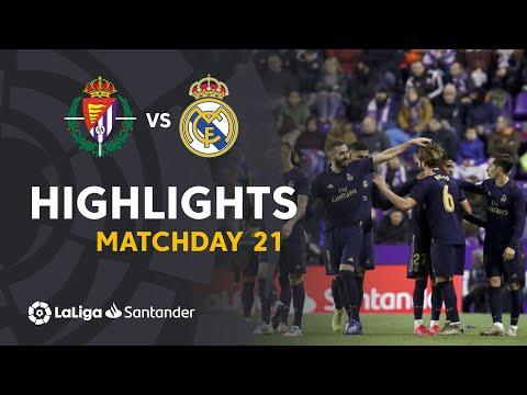 Highlights Real Valladolid Vs Real Madrid (0-1)