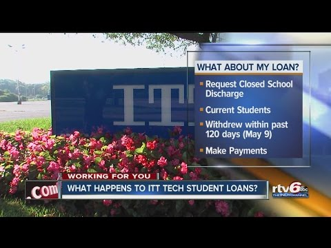 What happens to ITT Tech students' loans?