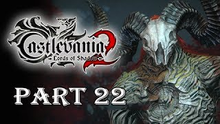 Castlevania Lords of Shadow 2 Gameplay Walkthrough Part 22 -  Boss Agreus