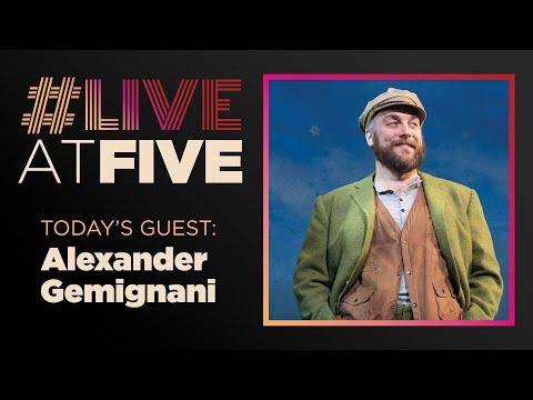 Broadway.com #LiveatFive with Alexander Gemignani of CAROUSEL