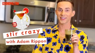 Adam Rippon Mixes Vodka with Emergen-C (?!) | Stir Crazy | Cosmopolitan