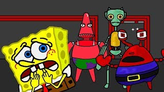 SpongeBob Five Nights at Freddy's in Chum Bucket