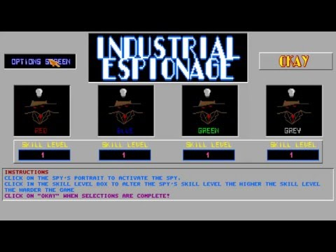 AMIGA INDUSTRIAL ESPIONAGE v1 00 FROM Assassins CD 02 Ultimate Games 1995Weird Science!Amiga CDTV32