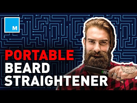 From Caveman To Gentleman With This BEARD STRAIGHTENER   Future Blink