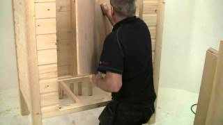 Build It With Bosch Project 4: The Mini Shed: Part 3