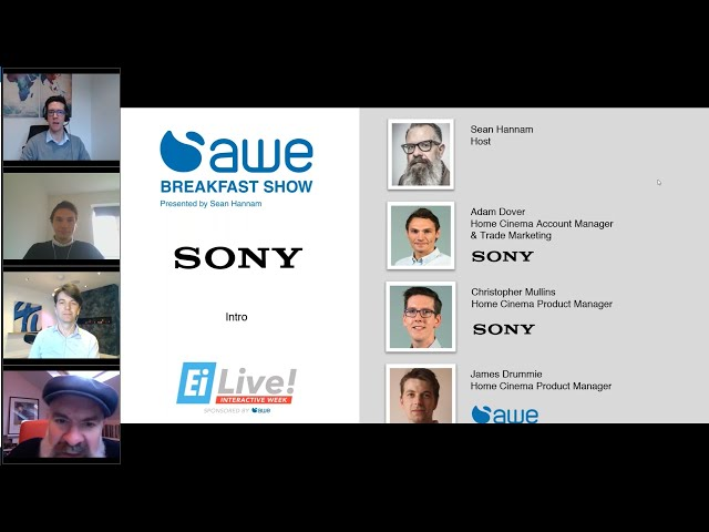 AWE Breakfast Show, featuring Sony