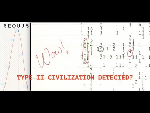 Did SETI Discover a Type II Civilization? Signals Observed