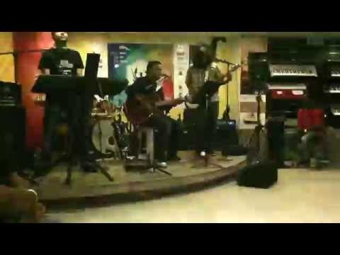 Alberta - 18 Across Eric Clapton Cover (Bad Quality Video)