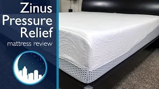 видео zinus memory foam mattress