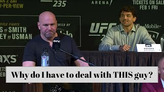 Ben Askren INFURIATING Dana White for 7 minutes