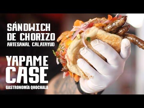 Sándwich de chorizo artesanal - Yapame Case
