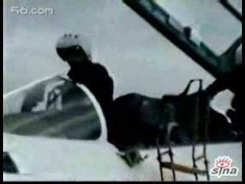 Chinese J11b Doing Cobra Maneuver