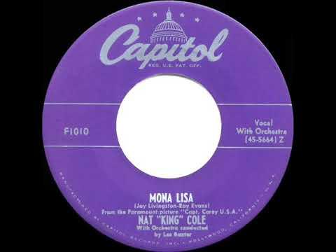 1950 HITS ARCHIVE: Mona Lisa - Nat King Cole (his original #1 version)