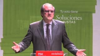 Ángel Gabilondo acto en Madrid  19 05 15 Grito Insurrecto Cultura y Educación