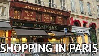 SHOPPING AT GOYARD IN PARIS! #Vlogmas