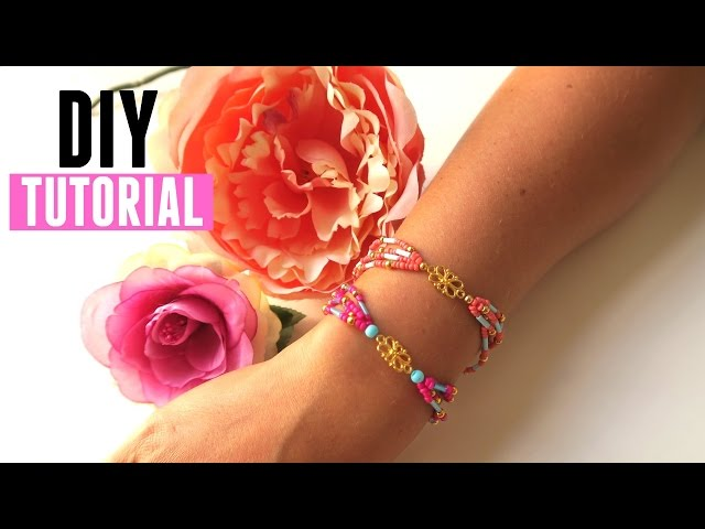 How to make a Multi Strand Bracelet - DIY Jewelry Making