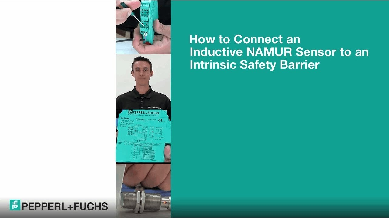 How to Connect NAMUR Sensors to an Intrinsic Safety Barrier - YouTube