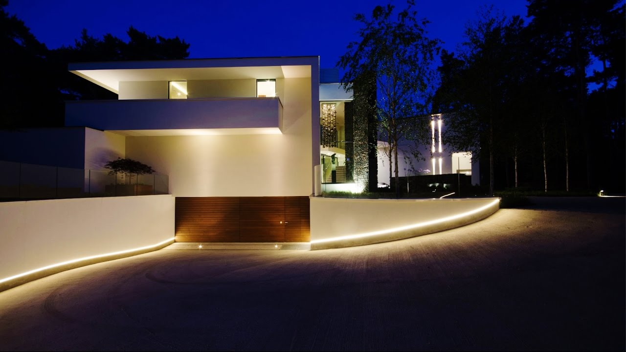 Lampadaire Exterieur Outdoor Modern Contemporary Luxury Villa In North Brabant, The
