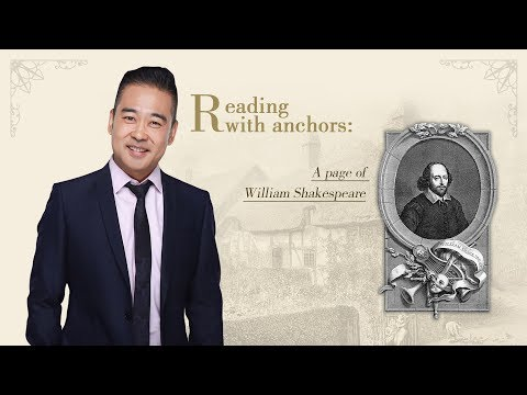 Reading with anchors: A page of William Shakespeare - Episod