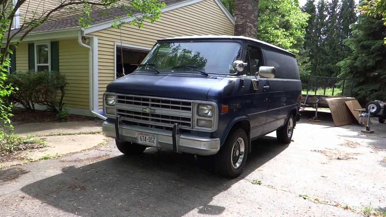 1991 chevy van for sale