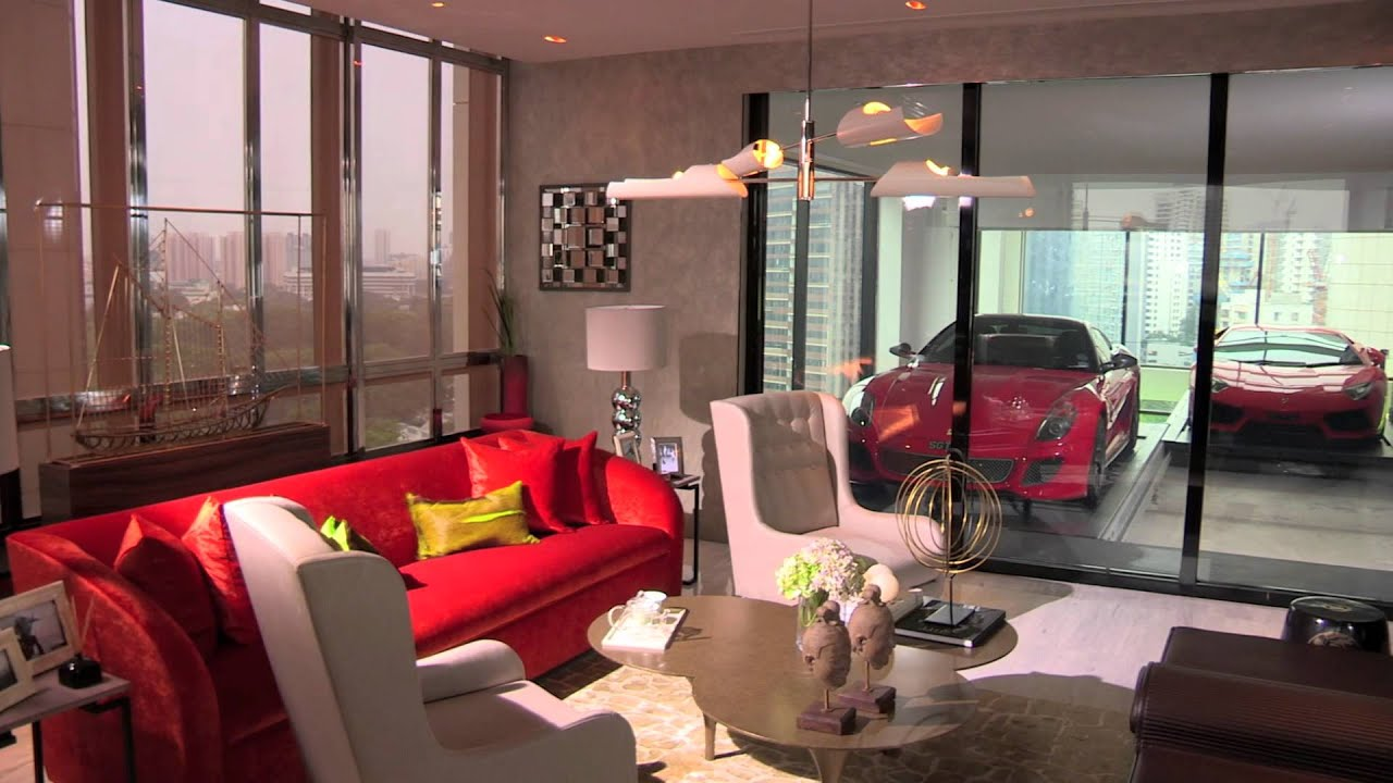 Hamilton scotts sky garage by als youtube for Living room garage