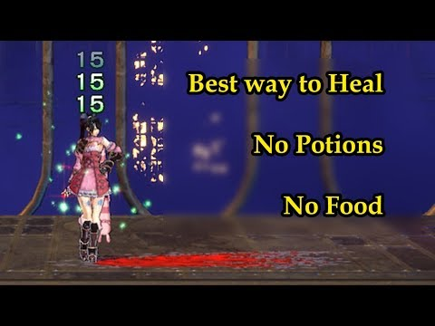 Best way to Heal Miriam - No Potions - No Foods - Bloodstained ROTN |
