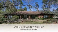 Jacksonville Real Estate: Mandarin Homes For Sale - 9389 Beauclerc Wood Lane North