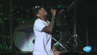 "Chris Brown & Kid Ink performing ""Show Me"" at Cali Christmas Festival 