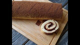 Бисквитный рулет с клубничным джемом: рецепт от Foodman.club