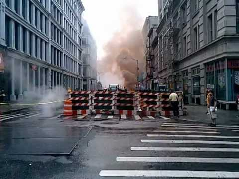 Electrical Fire Manhattan, Grand & Broadway August 1st