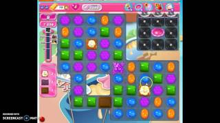 Candy Crush Level 1598 help, w/audio tips, hints, tricks