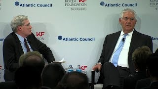 Tillerson: Diplomacy with DPRK won