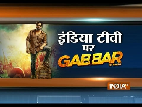 Gabbar Is Back Movie: Akshay Kumar | Director Krish's Exclusive interview on India TV