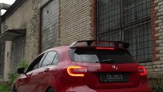 Тюнинг выхлопной системы Mercedes A45 AMG