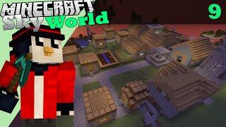 Minecraft: Sky World | Cat damage poate da un IRON golem?! #9
