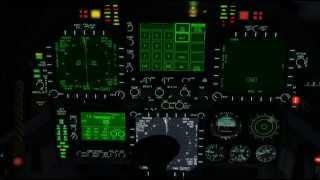 VRS F/A-18E Super Hornet Lighting Demo