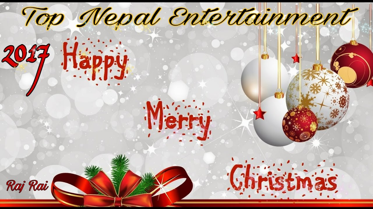 Happy Christmas 2017 Nepali